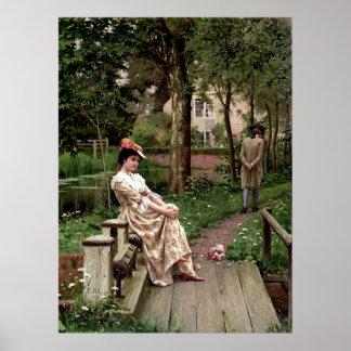 A Lady Print