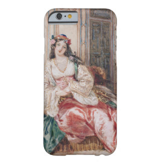 A Lady Seated in an Ottoman Interior Wearing Turki iPhone 6 Case