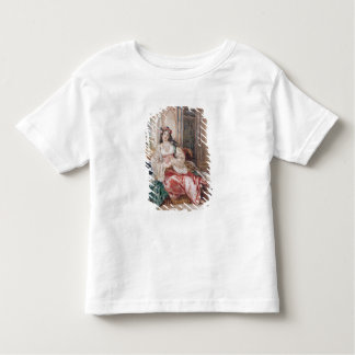 A Lady Seated in an Ottoman Interior Wearing Turki Toddler T-shirt