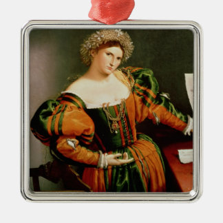 A Lady with a Drawing of Lucretia, c.1530-33 Christmas Ornaments