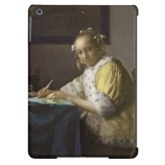 A Lady Writing, c. 1665 (oil on canvas) iPad Air Covers