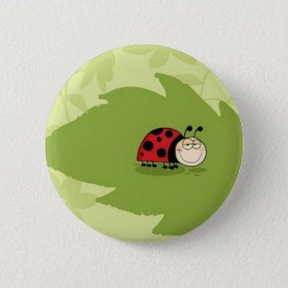 A Ladybug Button