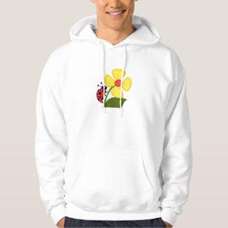 A Ladybug Flower Hoodie