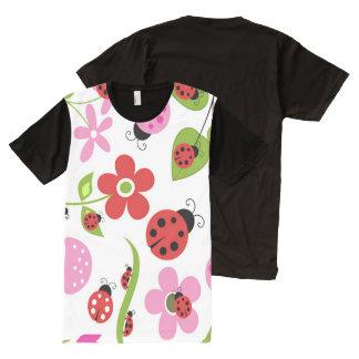 A Ladybug Garden All-Over-Print Shirt
