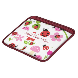 A Ladybug Garden Sleeve For iPads