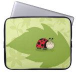 A Ladybug Laptop Computer Sleeve