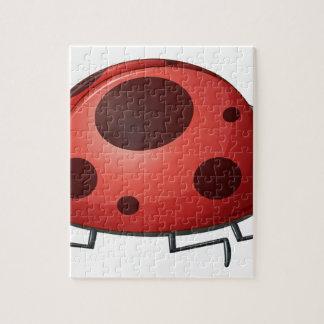 A ladybug jigsaw puzzle