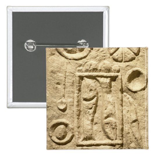 A laid table, from Timgad, Algeria Pinback Button
