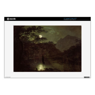 A Lake by Moonlight, c.1780-82 (oil on canvas) Laptop Skins