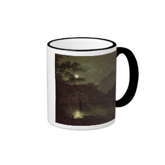 A Lake by Moonlight, c.1780-82 (oil on canvas) Mugs