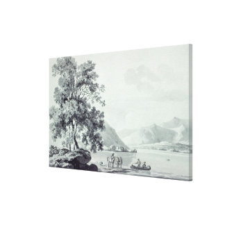 A Lake Scene Gallery Wrapped Canvas