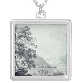A Lake Scene Necklace