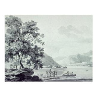 A Lake Scene Postcard