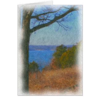 A Lake View Card
