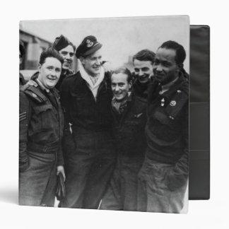 A Lancaster Bomber Crew Binder