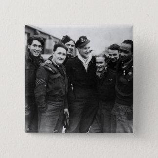 A Lancaster Bomber Crew Button
