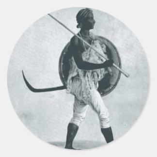 A Lancer of Tigre Sticker