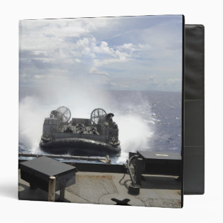 A landing craft air cushion binder