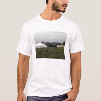 A landing craft air cushion comes ashore T-Shirt