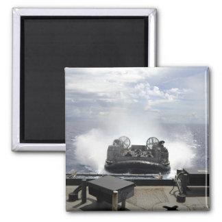 A landing craft air cushion magnet
