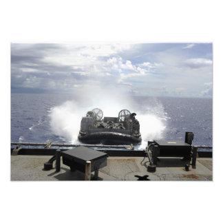 A landing craft air cushion photo print