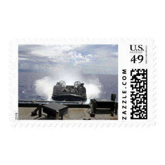 A landing craft air cushion postage stamps