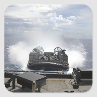 A landing craft air cushion sticker