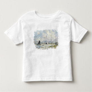 A Landing Stage on the Escaut, 1866 Toddler T-shirt