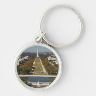 A landscape view of Washington DC Keychain