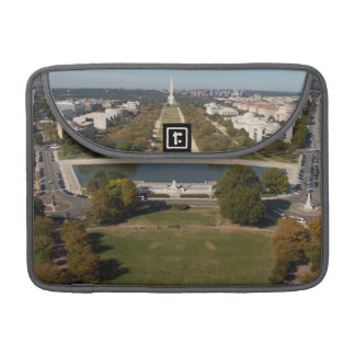 A landscape view of Washington DC MacBook Pro Sleeves