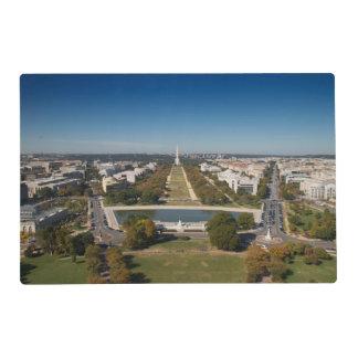 A landscape view of Washington DC Placemat