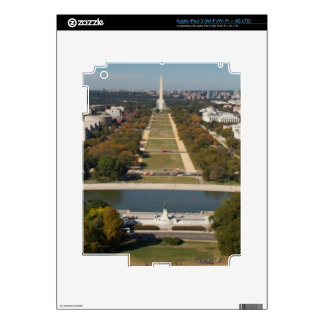 A landscape view of Washington DC Skins For iPad 3