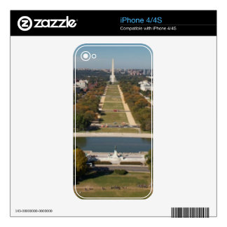 A landscape view of Washington DC Skins For The iPhone 4