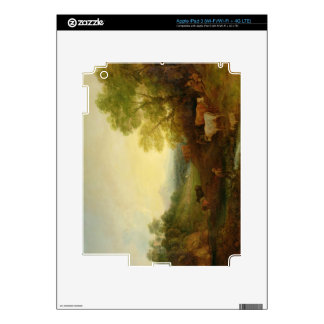 A Landscape with Cattle and Figures by a Stream an iPad 3 Skins