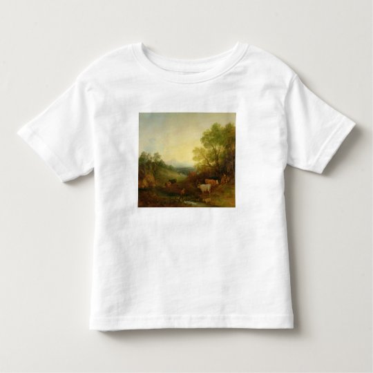 A Landscape with Cattle and Figures by a Stream an Toddler T-shirt