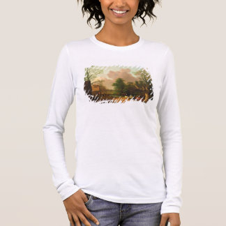 A Landscape with Figures, Farm Buildings and a Mil Long Sleeve T-Shirt