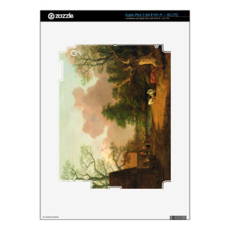 A Landscape with Figures, Farm Buildings and a Mil Decals For iPad 3