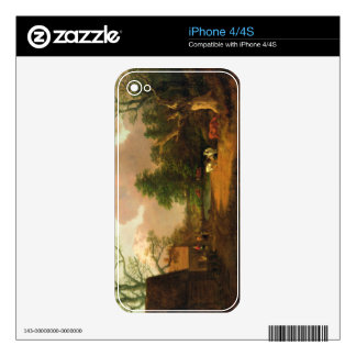 A Landscape with Figures, Farm Buildings and a Mil Skin For The iPhone 4