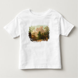 A Landscape with Figures, Farm Buildings and a Mil Toddler T-shirt