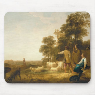 A Landscape with Shepherds and Shepherdesses Mouse Pad