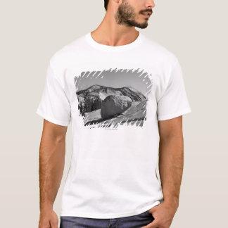 A large boulder - a glacial erratic - is perched T-Shirt