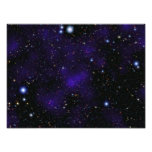 A large collection of galaxies photo print