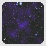 A large collection of galaxies square stickers