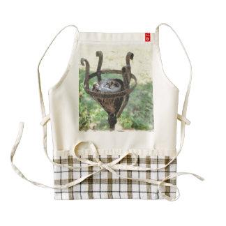A large lamp holder zazzle HEART apron