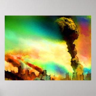 a_large_mushroom_cloud poster