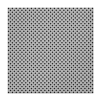 A Large Polka Dot Pattern.. Canvas Print