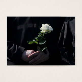 A Last White Rose Business Card