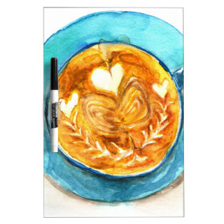 A Latte with Love Dry-Erase Board