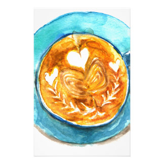A Latte with Love Stationery