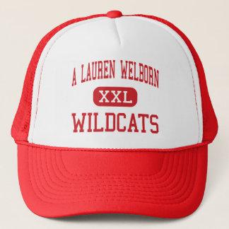 A Lauren Welborn - Wildcats - Middle - High Point Trucker Hat